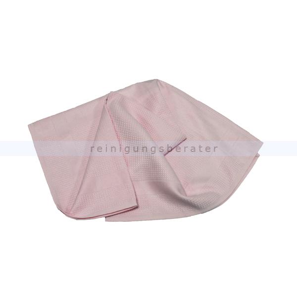 Geschirrtuch Meiko Microfaser 50x70 cm 1 Tuch rosa Ideales Poliertuch besonders für Gläser