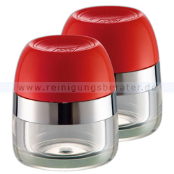 Gewürzmühle Wesco Gewürzbehälter 2er Set rot