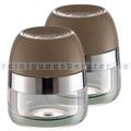Gewürzmühle Wesco Gewürzbehälter 2er Set warm grey