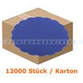 Glas- und Tassenuntersetzer Airlaid blau 9 cm