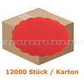 Glas- und Tassenuntersetzer Airlaid rot 9 cm
