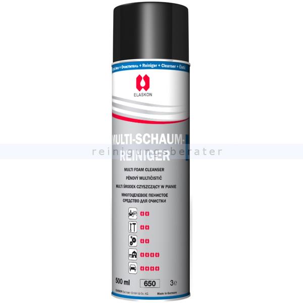 Glasreiniger ELASKON Multi-Schaumreiniger 500 ml Aerosoldose
