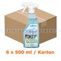 Glasreiniger Kiehl Glas Queen 6 x 500 ml Karton 1 Sprühkopf