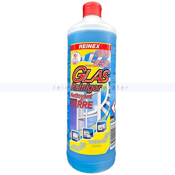 Glasreiniger Reinex Rundflasche ohne Sprühpistole 1 L Der Reinex Glasrein Glasreiniger reinigt gründlich und 117