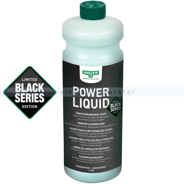 Glasreiniger Unger Black Series Power Liquid 1 L