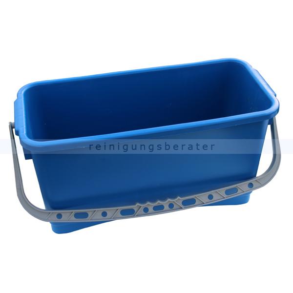 Glasreinigungseimer Reinigungsberater 20 L blau