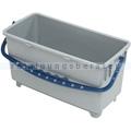 Glasreinigungseimer Reinigungsberater 20 L grau-blau