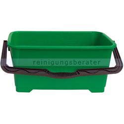 Glasreinigungseimer Unger groß grün 28 L