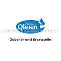 Glasreinigungsmaschine Zubehör Aquaqlean Verschraubung blau