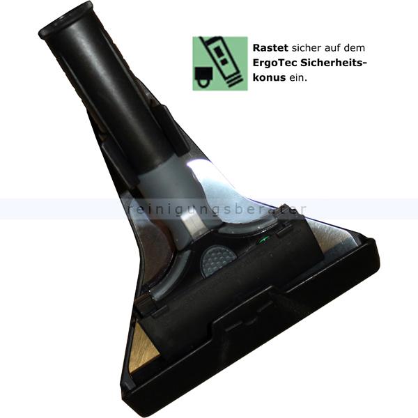 Unger ENH10 Glasschaber ErgoTec Ninja Combo 10 cm hochwertiger Glasschaber und Holster