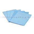 Glastuch Brillenputztuch 15x20 cm blau 5 Stück/Pack