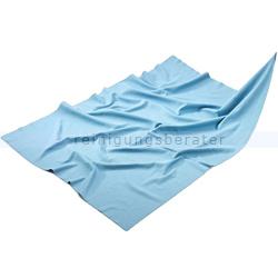 Glastuch Mega Clean Poliertuch Gläsertuch blau 50 x 70 cm
