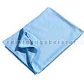 Glastuch Microfaser blau, 50 x 60 cm