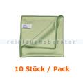 Glastuch PPS Pfennig Clino 40x38 grün 10 Stück