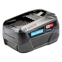 Gloria MultiBrush Ersatzakku Bosch Power4all li-on 18 V 4 Ah