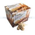 Grillanzünder Natura Biomat natürliche Holzwolle 62 Stück