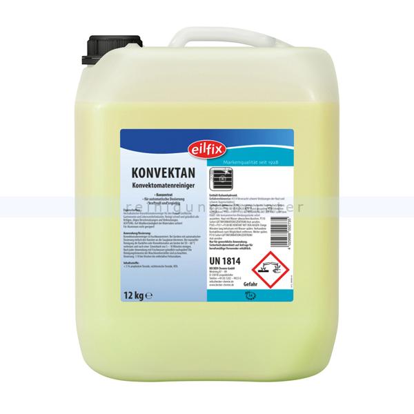 Becker Chemie Eilfix Konvektan Konvektomatenreiniger 12 kg hochalkalisch für Konvektomaten in Großküche & Gastronomie 100108-010-000