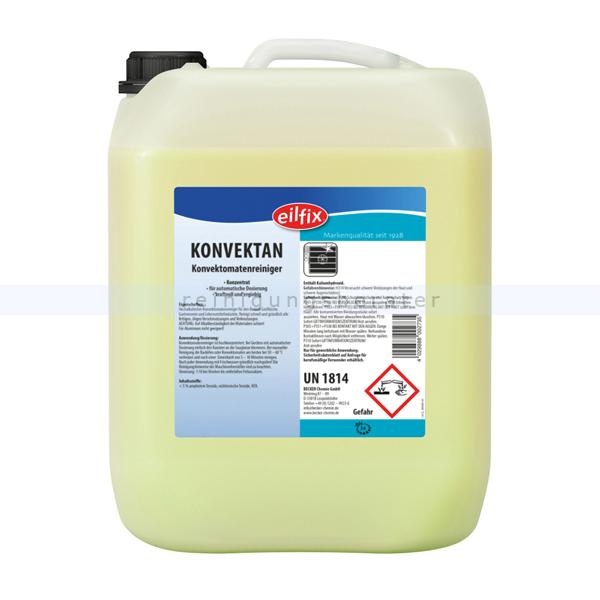 Becker Chemie Eilfix Konvektan Konvektomatenreiniger 5 L hochalkalisch für Konvektomaten in Großküche & Gastronomie 100108-005-000