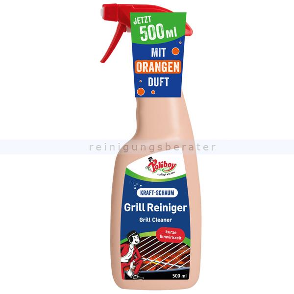 Poliboy Grill Reiniger 500 ml Grillreiniger zur Komplettreinigung von Grills und Backöfen 8850006