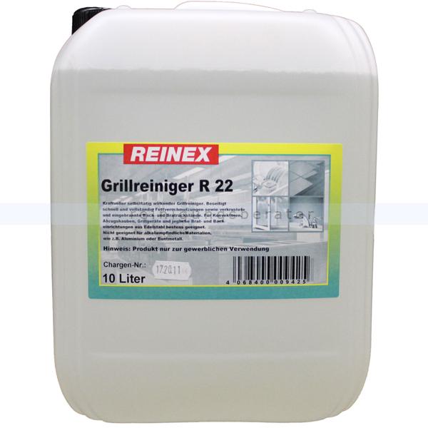 Grillreiniger R22 Reinex 10 L Küchen-, Grill- und Backofenreiniger Kanister 942