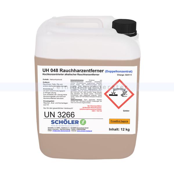 Schöler UH 048 Rauchharzentferner 12 kg Grillreiniger UH048-12