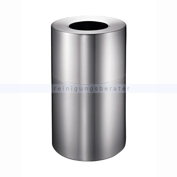 Gro volumiger m lleimer 130 l aluminium for Aspect de l aluminium