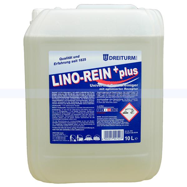 Dreiturm Lino-Rein Plus 10 L Grundreiniger für Linoleumböden, Nachfolger des Lino Rein 4722