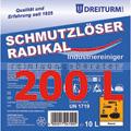 Grundreiniger Dreiturm Schmutzlöser Radikal 200 L