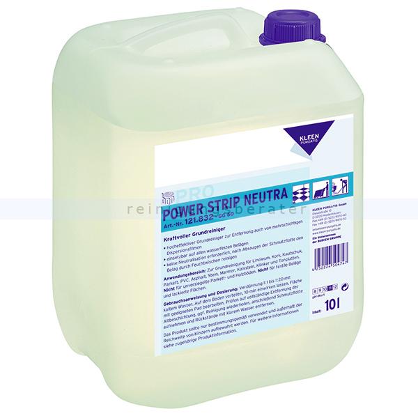 Kleen Purgatis Power Strip Neutra 10 L lösungsmittelhaltiger Hochleistungsgrundreiniger, alkalisch 90121832