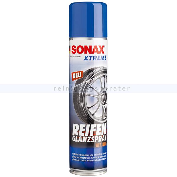 SONAX XTREME Reifenglanzspray Wet Look, 400 ml Reifenpflegespray für alle Reifentypen geeignet 02353000
