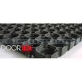 Gummiwabenmatte Doortex Octomat schwarz 80 x 120 cm