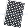 Gummiwabenmatte Nölle Gummiringmatte schwarz 40 x 60 cm