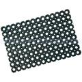 Gummiwabenmatte Nölle Maggio schwarz 40 x 60 cm, 23 mm stark