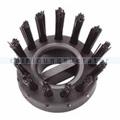 Gummiwabenmatte Octomat Doortex Bürstensatz 10er schwarz