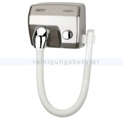Haartrockner All Care Mediclinics Druckknopf Schlauch silber