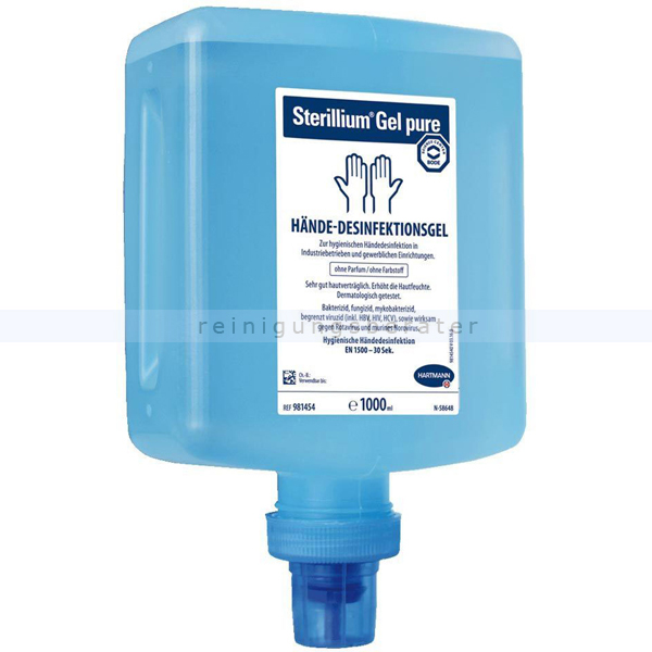Händedesinfektion Bode Sterillium Gel pure für Cleansafe 1 L