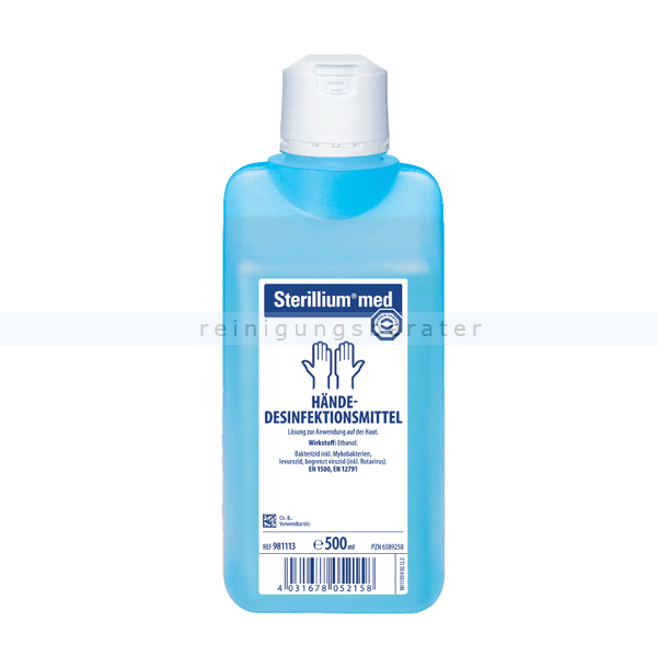 Händedesinfektion Bode Sterillium med 500 ml