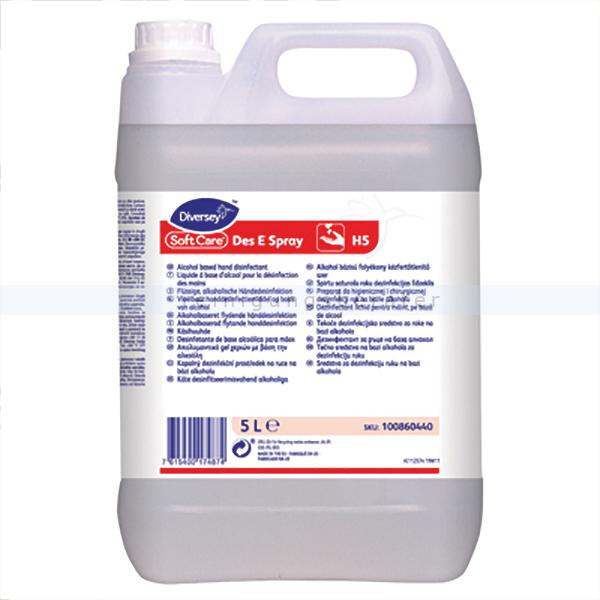Händedesinfektion Diversey Soft Care Des E H5 5 L