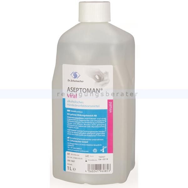 Händedesinfektion Dr. Schumacher Aseptoman® Viral 1 L