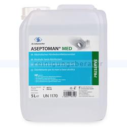 Händedesinfektion Dr. Schumacher Aseptoman med 5 L