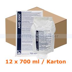 Händedesinfektion Lysoform AHD 2000, 12 x 700 ml im Karton