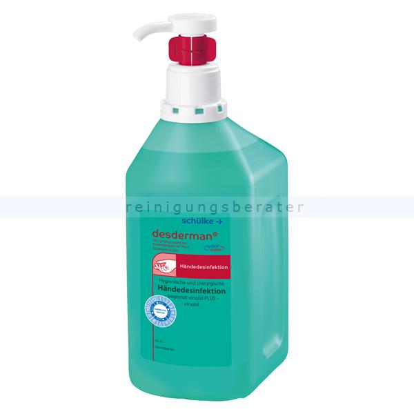 Händedesinfektion Schülke desderman pure 1000 ml hyclick
