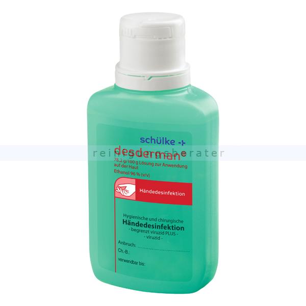Händedesinfektion Schülke desderman pure 100 ml parfumfrei
