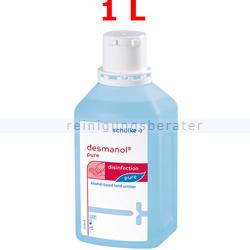 Händedesinfektion Schülke desmanol pure 1000 ml
