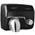 Zusatzbild Händetrockner All Care Saniflow Stahl schwarz 2250 W