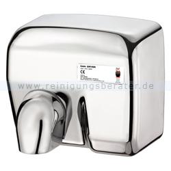 Händetrockner Dan Dryer Typ MAXI, blank verchromt
