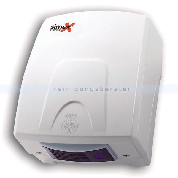Händetrockner Simex Basicflow mit Sensor 1500 W, weißes ABS