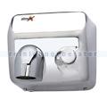 Händetrockner Simex Inoxflow mit Druckknopf Edelstahl 2300 W