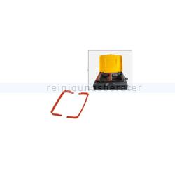 Halterahmen Arcora Clips für Halterrahmen rot