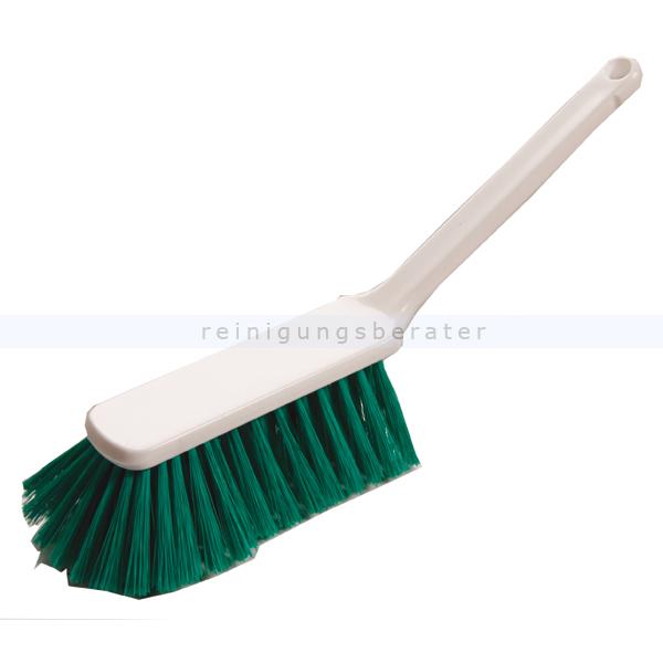 Haug Handbesen weich grün geschlitzt Polyester, 310 mm Polyester/PBT weich, geeignet nach HACCP & lebensmittelecht 88933